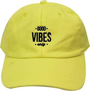 440c0a4fbac City Hunter C104 Good Vibes Only Cotton Baseball Caps 27 Colors