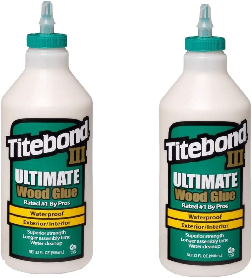 Titebond 1415 III Ultimate Wood Baltimore Mall Bottle Glue 32-Ounce Max 66% OFF 2 Pack