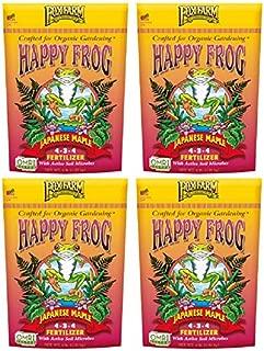 FoxFarm FX14660 4 lb Happy Frog Japanese Maple Fertilizer - Quantity 4