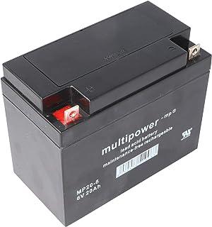 Suchergebnis Auf Für Bleiakku 6v 4 5ah Multipower 101x45x70mm Akku Elektronik Foto