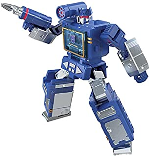 Transformers Toys Generations War for Cybertron: Kingdom Core Class WFC-K21 Soundwave Action Figure - Kids Ages 8 and Up, ...