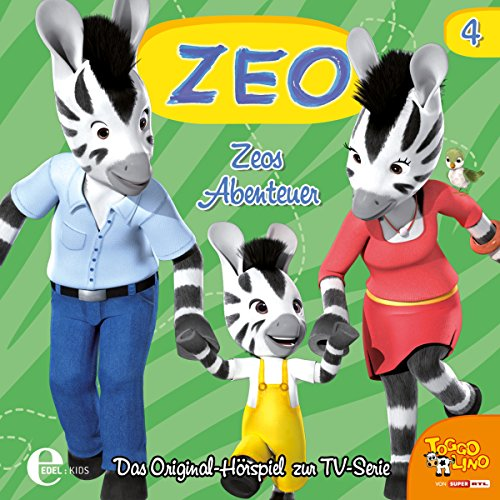 Zeos Abenteuer (Zeo 4) Titelbild