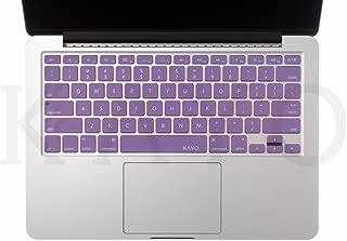 "KAYO Ultra Thin Durable Keyboard Cover Silicone Skin for Macbook 13"" Unibody, Macbook Pro 13"