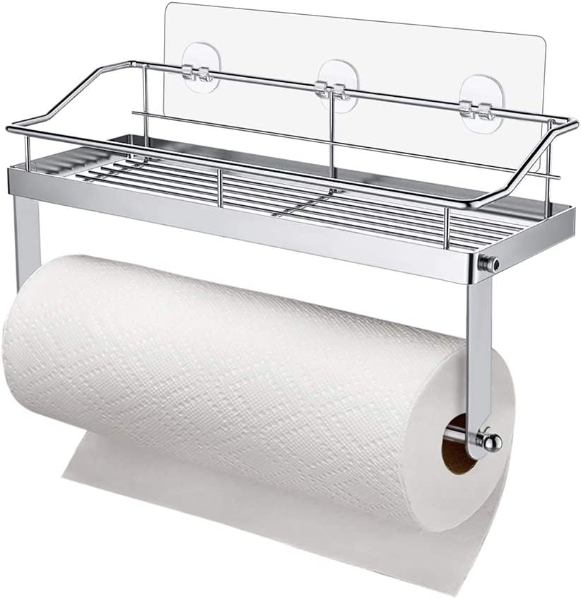 Carry360 Adhesive Paper Max 64% OFF 2021 spring and summer new Towel Holder Mounted To Shelf Wall