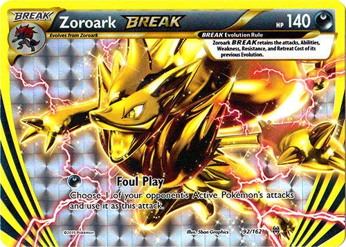 Pokemon - Zoroark-Break (92/162) - XY Breakthrough