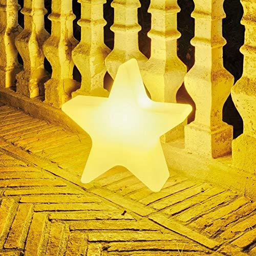 ZTL GLUMST040OFNW Stella Di Natale Illuminata Luce Calda