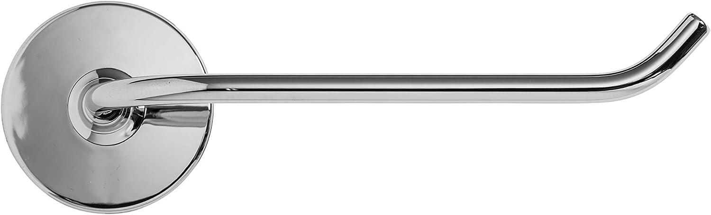 Acero enchapado en Cromo Plateado Croydex Portarrollos para Papel higi/énico en Forma de Gancho con Adhesivo Fijo Libre de /óxido