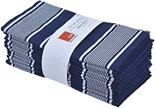 Best blue and white cloth napkins Reviews