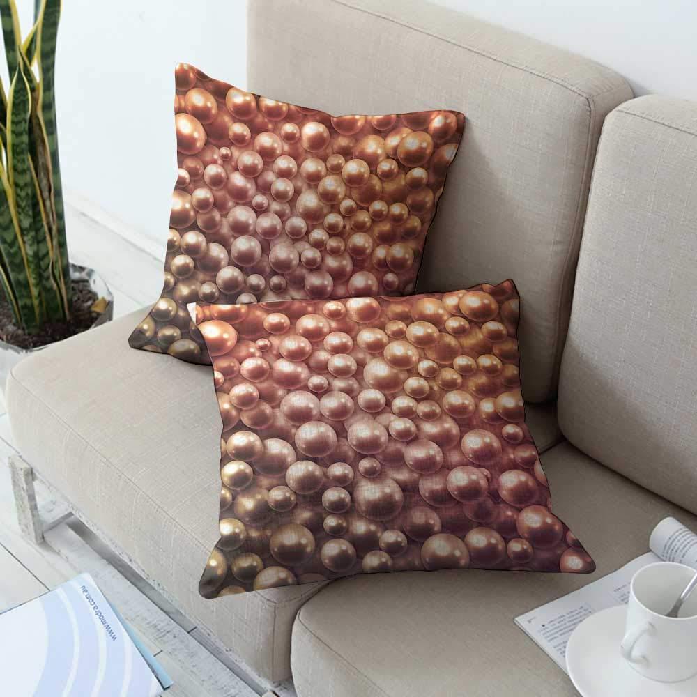 Ediyuneth Pillowcases Standard Pearls