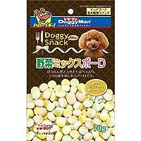 (まとめ買い)ドギーマン ドギースナックバリュー 野菜 ミックス ボーロ 70g 【×40】