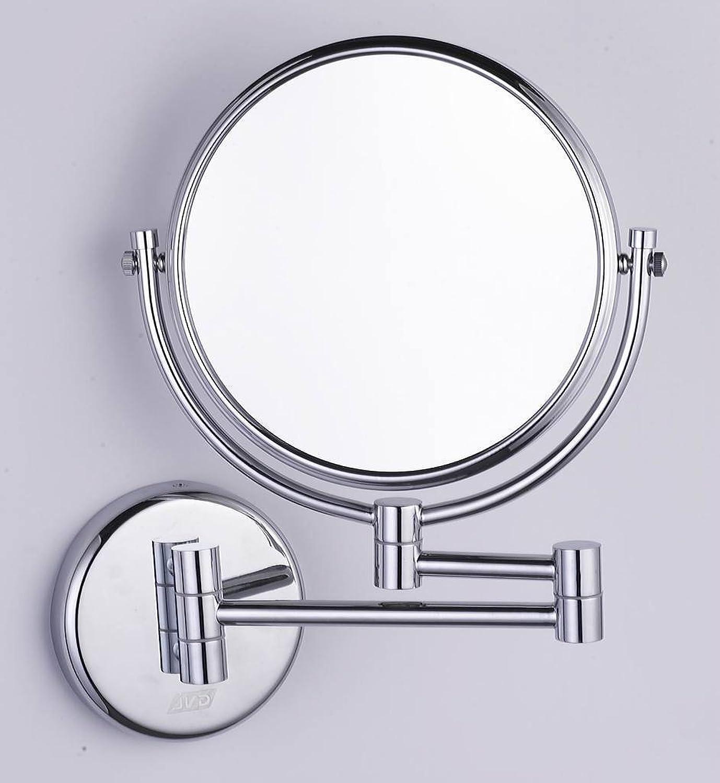 Wall-mounted makeup mirrors bathroom mirrors on both sides double sided mirror wall mount makeup mirror