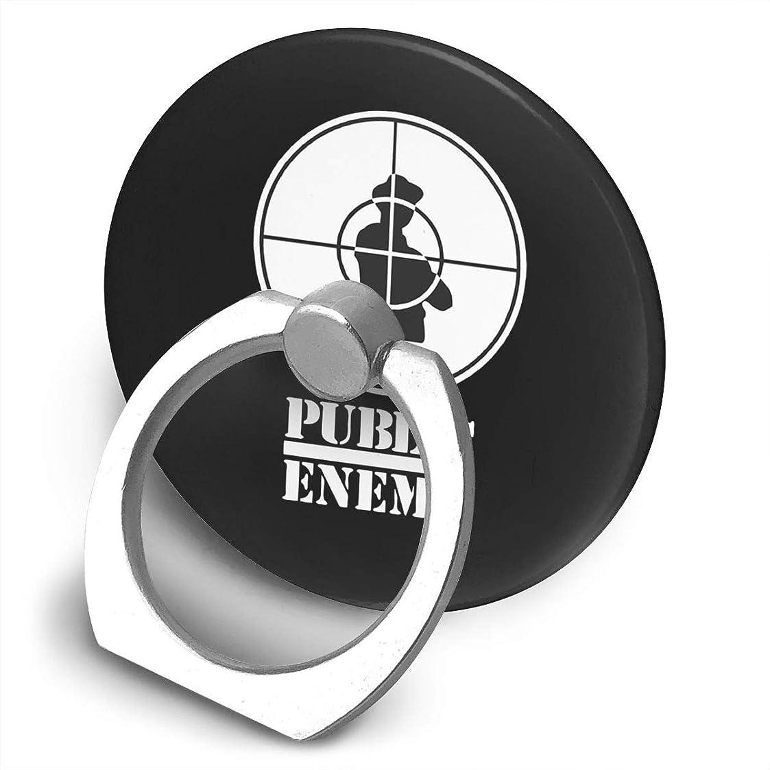 ソファーアルミニウム忘れるパブリックエネミー PUBLIC ENEMY スマホ リング ホールドリング 指輪リング 薄型 おしゃれ スタンド機能 落下防止 360度回転 タブレット/スマホ IPhone/Android各種他対応