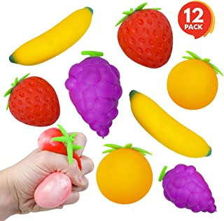 fruit and vegetable stress balls