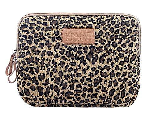 Black Temptation Tablets Protector Bag Porte-Monnaie Sac imprimé léopard Motif