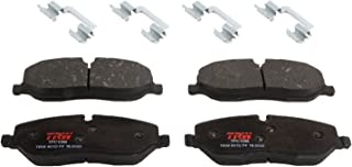 OE Premium Quality Perfect fit American Black ABD1098C Professional Ceramic Front Disc Brake Pad Set Compatible With LR3 05-06 Range Rover 06-09 Range Rover Sport 06-09 QUIET and DUST FREE
