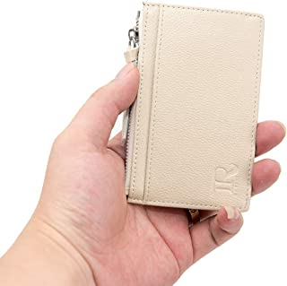 R RAYFEI Front Pocket PU Leather Slim Wallet Blocking coin purse
