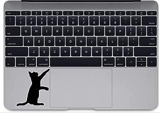 Curious Cat Version 2 Apple MacBook Decal Vinyl Sticker Apple Mac Air Pro Retina Laptop Sticker