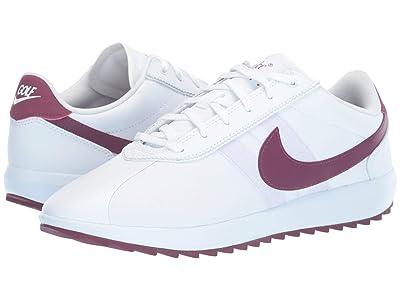 Nike Golf Cortez G (White/Villain Red/Barely Grape/Plum Dust) Women