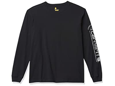 Carhartt Relaxed Fit Midweight Long-sleeve Logo Graphic T-shirt