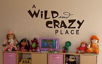 ملصق جداري للديكور الجداري بلاس مور أوايلد آند كريزي بليس من وول ديكور لغرفة الأطفال أو غرفة الأطفال 44 عرض × 23 ارتفاع - ...