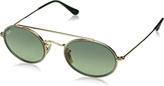 RB3847N Oval Double Bridge Sunglasses