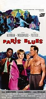 Paris Blues Movie Poster (13 x 28 Inches - 34cm x 72cm) (1961) Italian -(Paul Newman)(Sidney Poitier)(Joanne Woodward)(Diahann Carroll)(Louis Armstrong)(Barbara Lange)