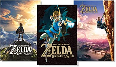 Pyramid America Set of 3 Legend of Zelda Breath of Wild Fan Collection Poster Set Bundle 24x36 inch