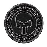 God Will Judge Our Enemies ACU Subdued US Navy Seals DEVGRU NSWDG Morale Fastener Patch