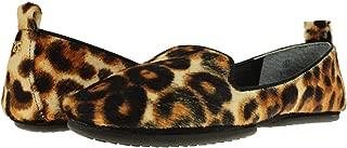 Women's Silva Natural Leopard Print Calf Hair Ballet Flats