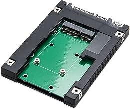 SYBA 2.5-Inch SATA to mSATA SSD Adapter, Use as External USB 2.0 Storage Device (SD-ADA40077)