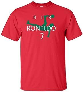 KING THREADS Cristiano Ronaldo Portugal Air Ronaldo Portugal T-Shirt