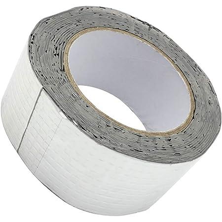 ookuwa 強力 補修粘着テープ 屋根 壁 テント 屋外 固定 防水 水漏れ 業務用 (幅5cm×長さ5m)