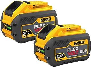DEWALT DCB609-2 20V/60V MAX FLEXVOLT 9Ah Battery, 2 Pack