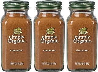 Simply Organic Vietnamese Cinnamon | Certified Organic | 2.45 oz. (3 Pack)