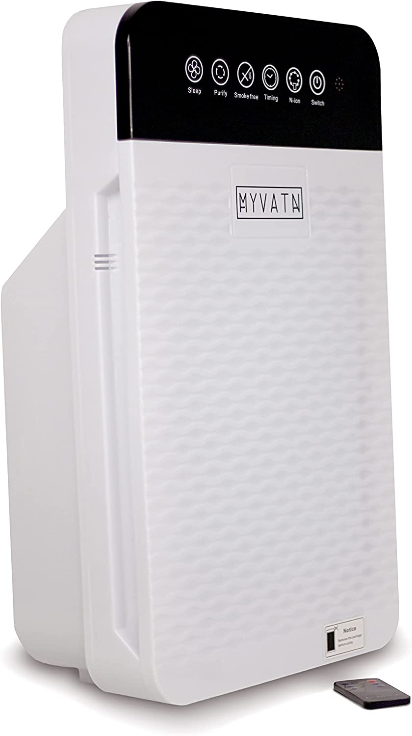 MYVATN - M1 Smart True Sale HEPA 99. Purifier; Large Filters Air Room Some reservation