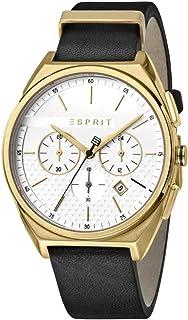 Esprit ES1G062L0025 Slice Chrono White Gold Black Montre Hommes Chronographe