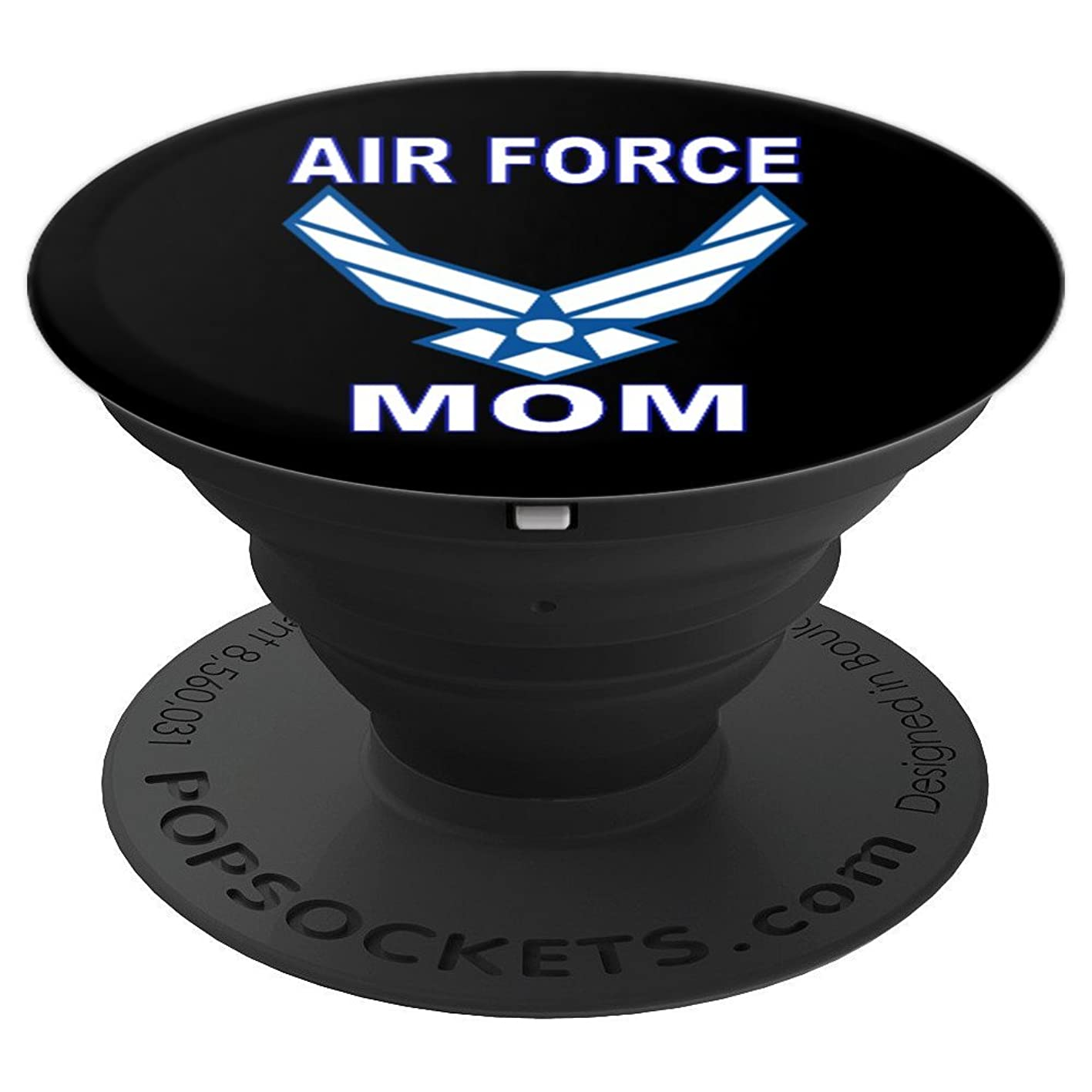 Air Force Mom - PopSockets Grip and Stand for Phones and Tablets nugflnukqlu435