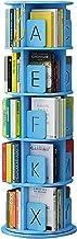 Boekenplank grote vloerstaande, 5-tier open design hoek boekenkast voor woonkamer/slaapkamer/kantoor decor, 360 掳 draaibar...