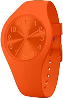 Ice-Watch - Ice Colour Tango - Montre Orange pour Femme avec Bracelet en Silicone - 017910 (Small)