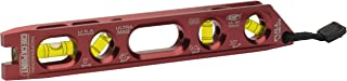 CHECKPOINT 0300R Pro Mag Precision Torpedo Level, Red