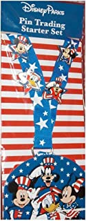 Disney Pin Accessory - Pin Trading Starter Set - Stars and Stripes