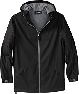 KingSize Men's Big & Tall Fleece-Lined Rain Coat
