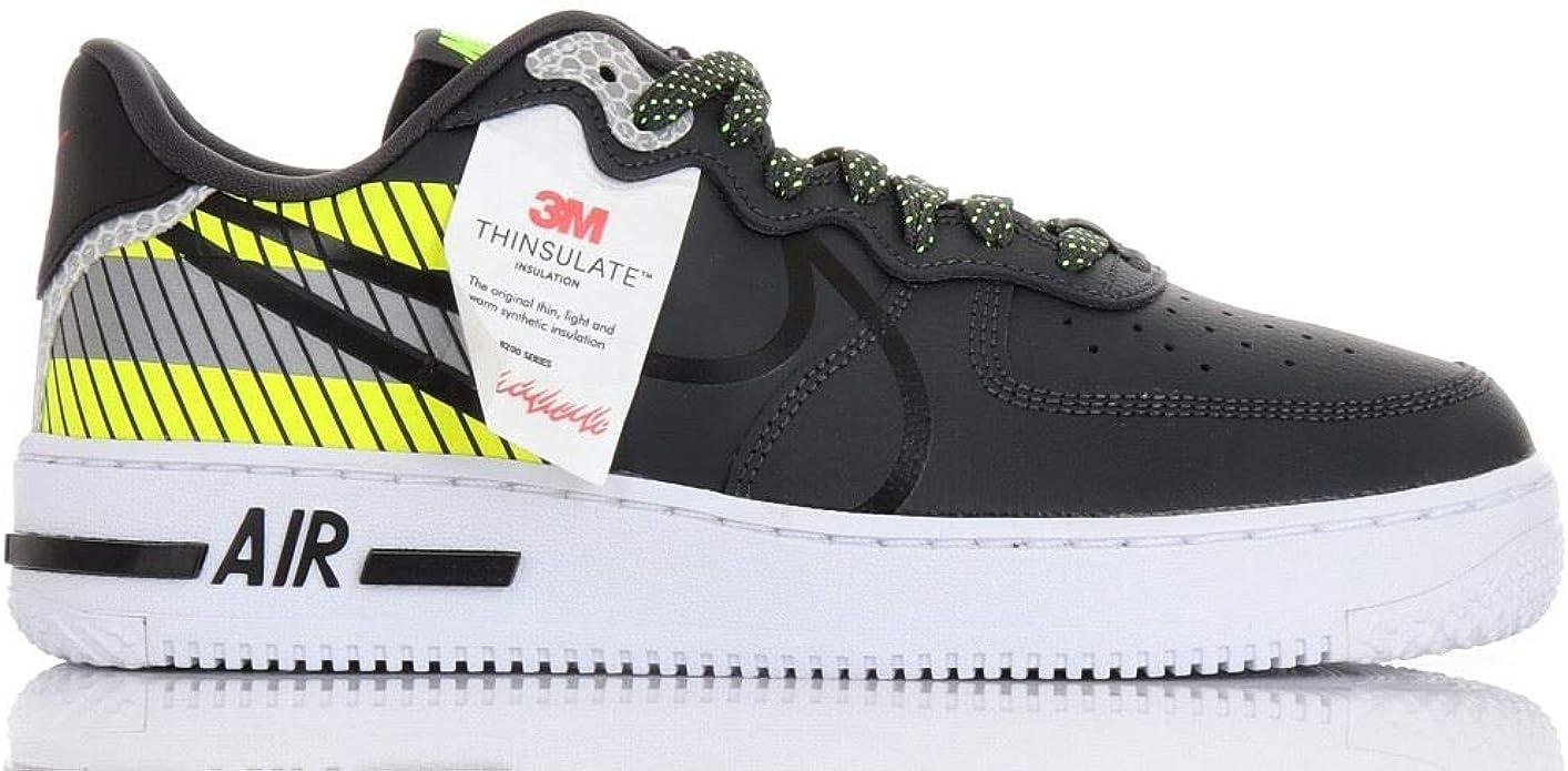 Nike Air Force 1 React LX 3M : Amazon.fr: Chaussures et Sacs