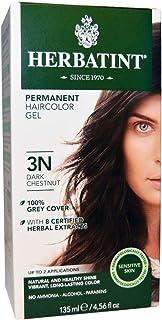 Herbatint, Permanent Hair Color, 3N, Dark Chestnut, 4.56 fl oz (135 ml)