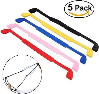 fd56c262db NUOLUX 5 colores gafas de sol anteojos gafas antideslizante elástico de  silicona banda para la cabeza