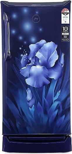 Godrej 185 L 4 Star Inverter Direct-Cool Single Door Refrigerator (RD UNO 1854 PTI AQ BL, Aqua Blue) 1