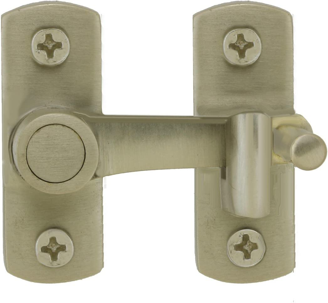 A surprise price is realized Satin Nickel Cabinet Cupboard Latch Renovator's Sup Max 80% OFF Catch Modern