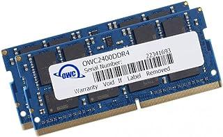 OWC 32 GB PC4-19200 2400 MHz DDR4 SO-DIMM CL17 Kit de Memoria (2 x 16 GB)