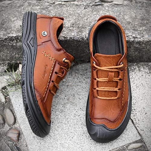 Aerlan Gym Shoes Lightweight Shoes,Botas de montaña Deportivas,Calzado Casual Zapatillas de Alpinismo al Aire Libre Anti-Skating-Gray_42#