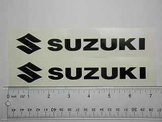 Suzuki motorcycle sticker 6